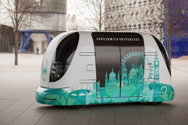 London trials driverless shuttle service