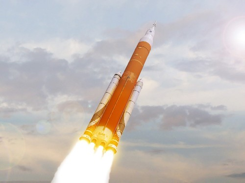 NASA won't put humans on the first flight of its big rocket after all