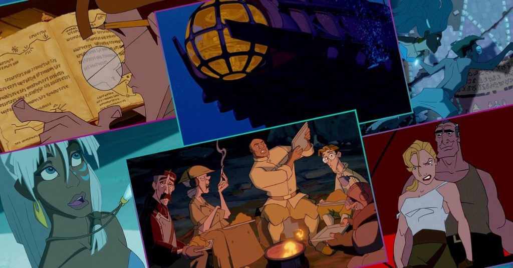 Atlantis was meant to change the course of Disney animation