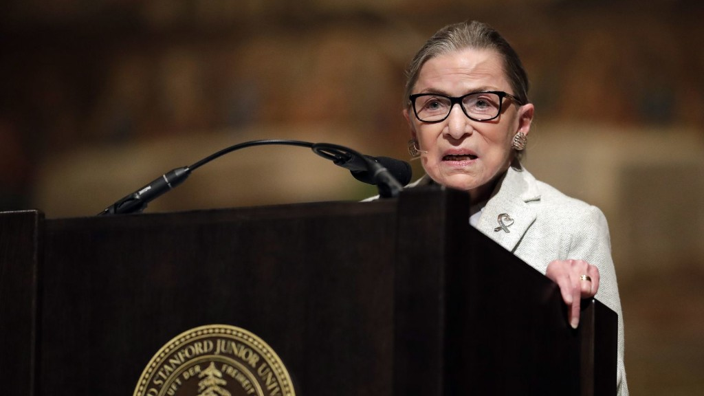 Ruth Bader Ginsburg: change the Electoral College