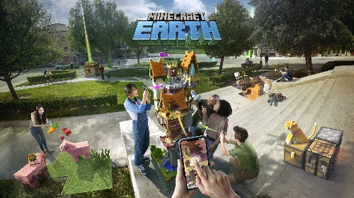 You can now sign up for the Minecraft Earth beta on Android