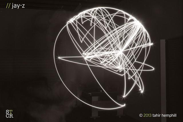 Mapper's delight: rap's lyrical journeys captured with light