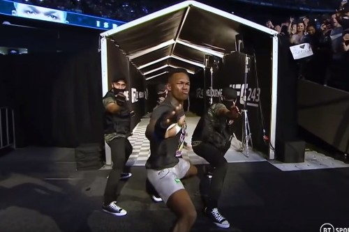 Israel Adesanya demanded UFC let him dance his way into UFC 243 cage