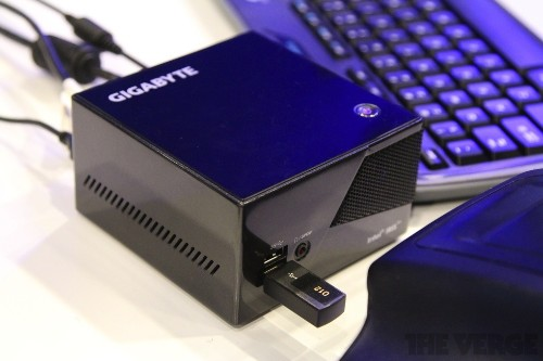 Gigabyte's tiny new gaming PC is smaller than an Xbox controller