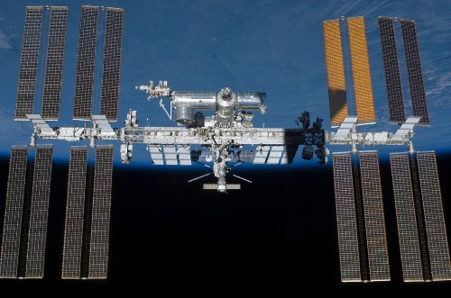 NASA is working on a partial power outage on the space station that's delaying a SpaceX launch