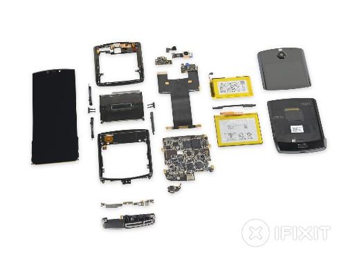Motorola Razr undergoes iFixit's 'most complicated' teardown yet