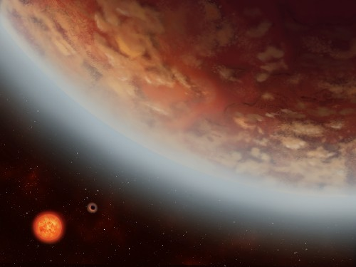 Water vapor — and maybe even rain — found on distant world twice the size of Earth