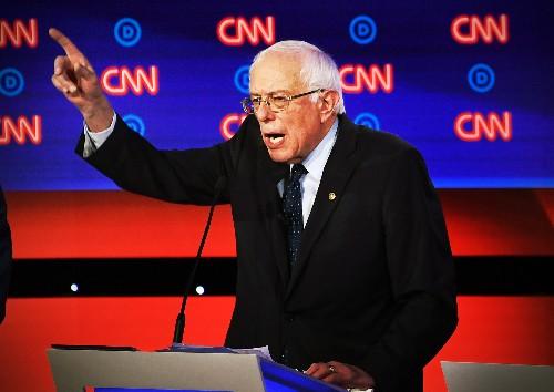 "Bernie Sanders already has ""I wrote the damn bill"" merch"