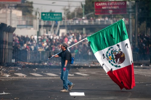 Did GoDaddy and Homeland Security shut down a Mexican protest site?