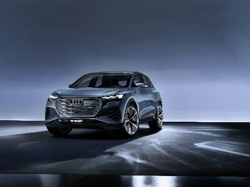 Audi's new Q4 E-tron is a smaller electric SUV with great range