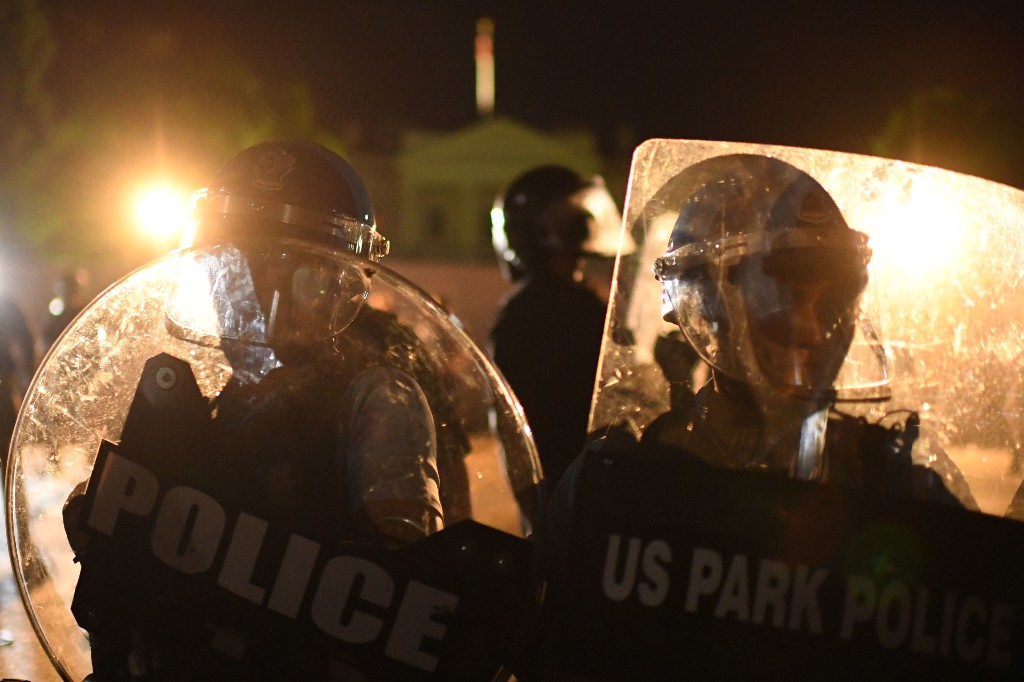 Trump's claim that DC police didn't protect the White House from protesters is false