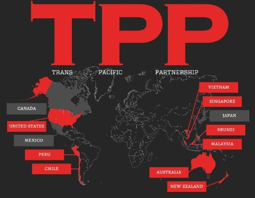WikiLeaks publishes secret draft of Trans-Pacific Partnership treaty