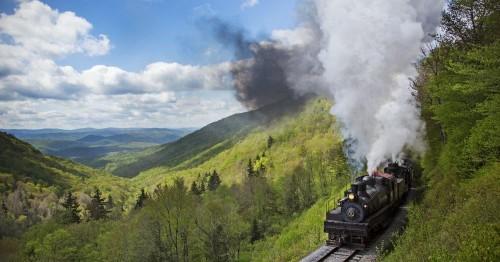 The most scenic train routes in the U.S.