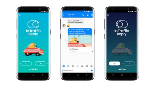 Samsung has a new auto-reply app for avoiding distracted driving