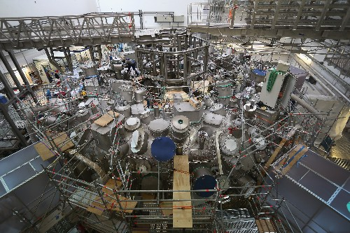Germany just turned on a new experimental fusion reactor
