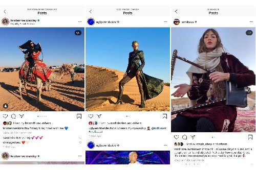 Influencers face backlash for promoting a Saudi Arabian music festival