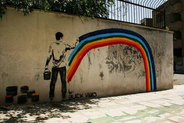 The self-proclaimed Banksy of Tehran