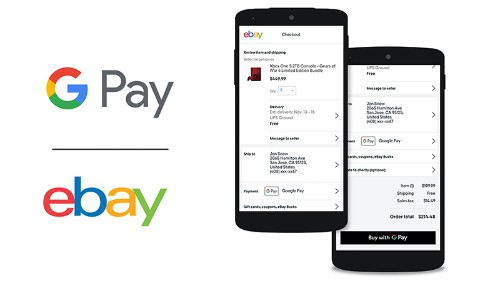 eBay is adding support for Google Pay