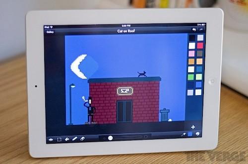 8-bit canvas: Pixaki makes pixel art easy with an iPad
