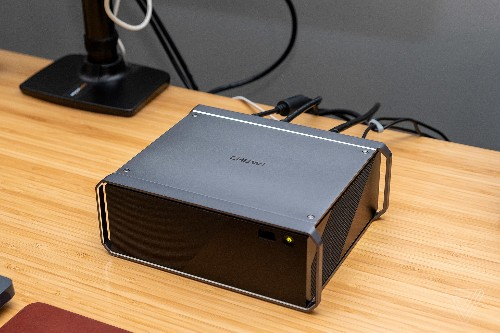 The Chuwi HiGame PC is a cheaper, noisier mini gaming rig