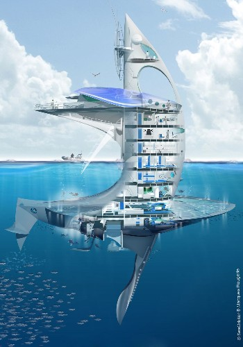 This is the Starship Enterprise of sea exploration