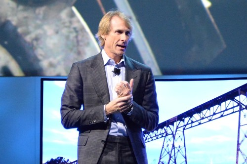 Watch Michael Bay melt down onstage at CES