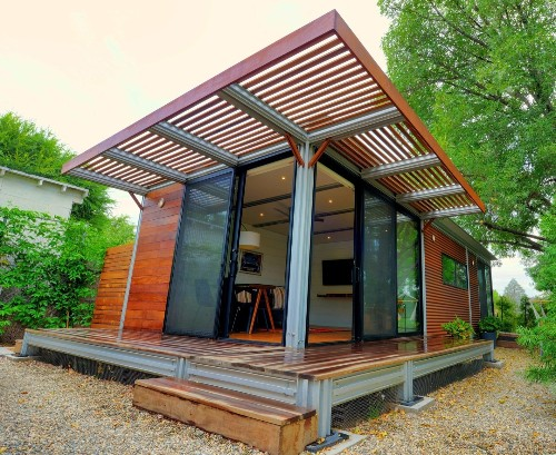 New modular prefabs designed to be backyard homes