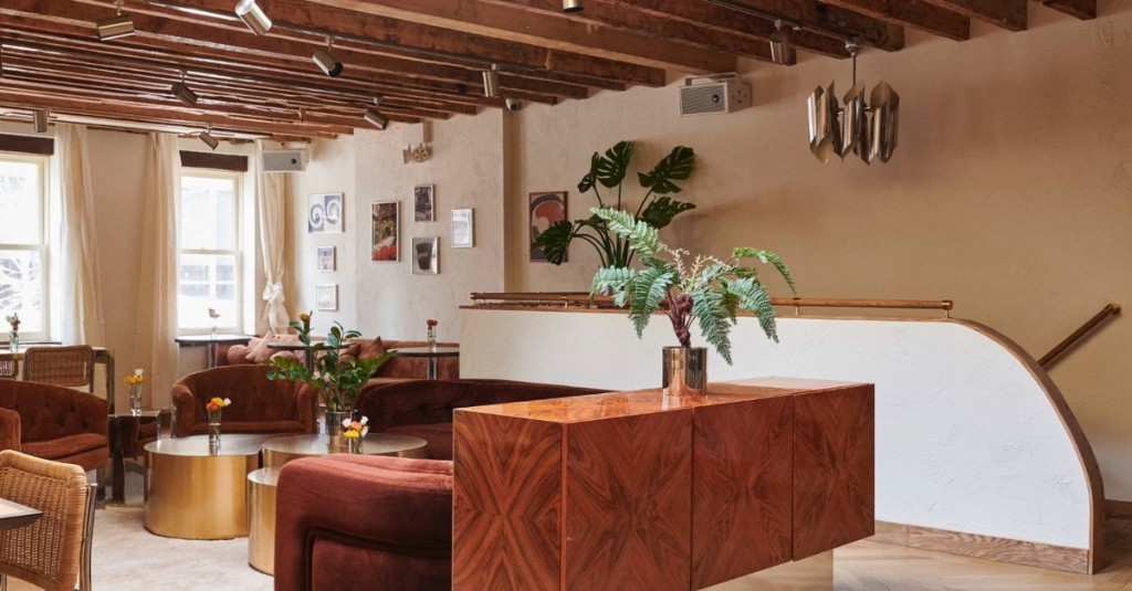 A Velvet-Bedecked 70s-Style Bistro Opens in Soho