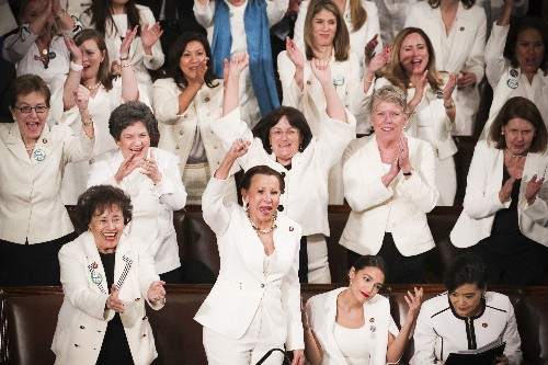 One of the biggest moments of Trump's State of the Union went to Democratic women
