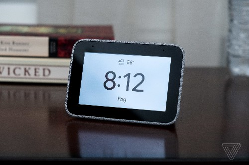 Lenovo's Smart Clock is small, simple, and limited