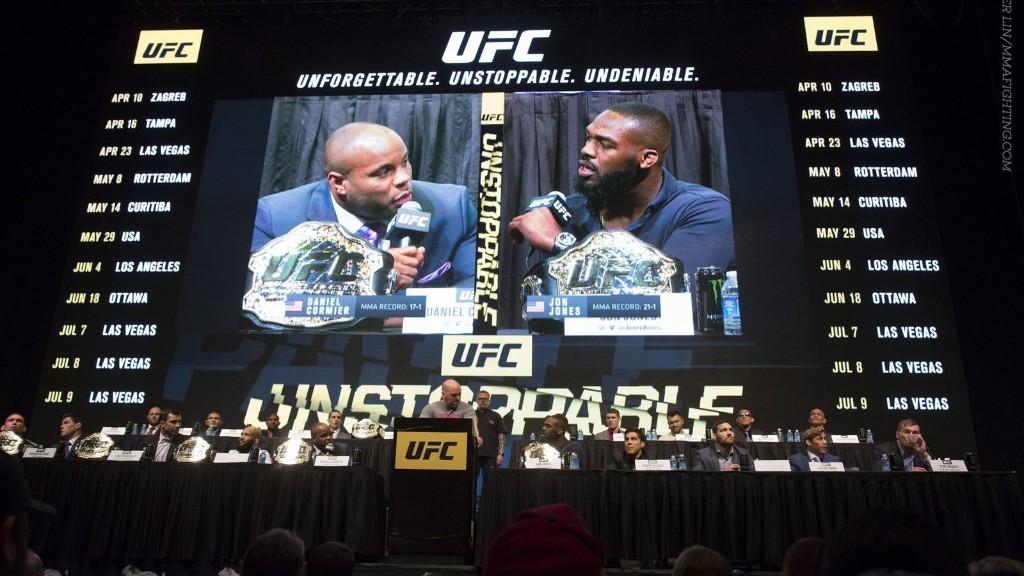 UFC 214 poster revealed