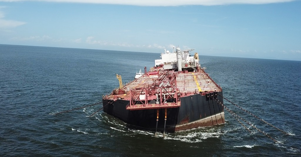 A stranded oil tanker at risk of spilling in the Caribbean looks to be safe — for now