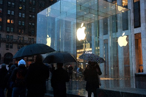 Apple's Fifth Avenue store has been having bed bug problems