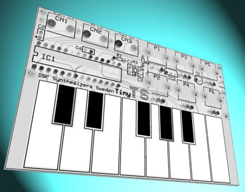 You can fit this miniature synthesizer in your wallet
