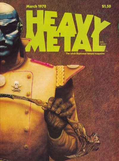 Heavy Metal magazine getting rebooted with a focus on film and TV