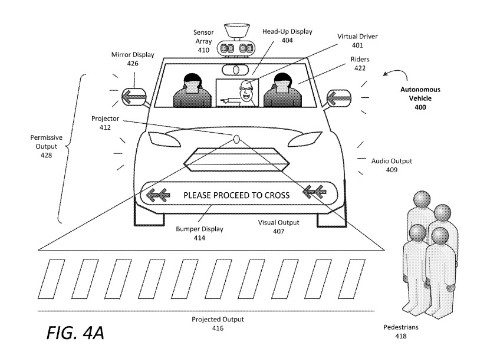 Self-driving cars will use flashing lights and weird noises to 'talk' to pedestrians
