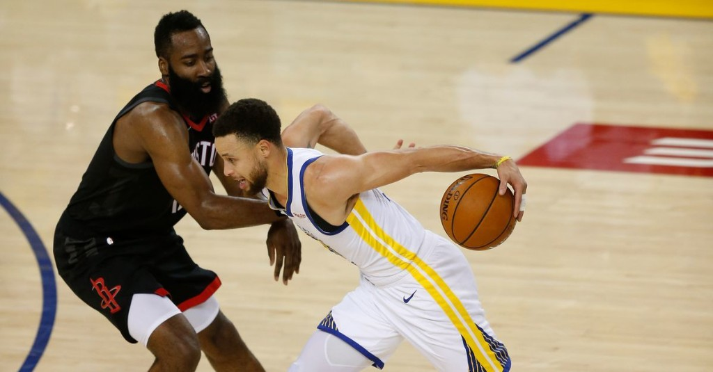 Dubs in-depth: Steph Curry or James Harden?