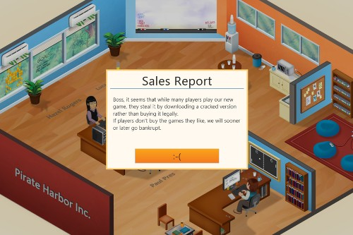 Players who pirated 'Game Dev Tycoon' see their virtual studios hit by piracy