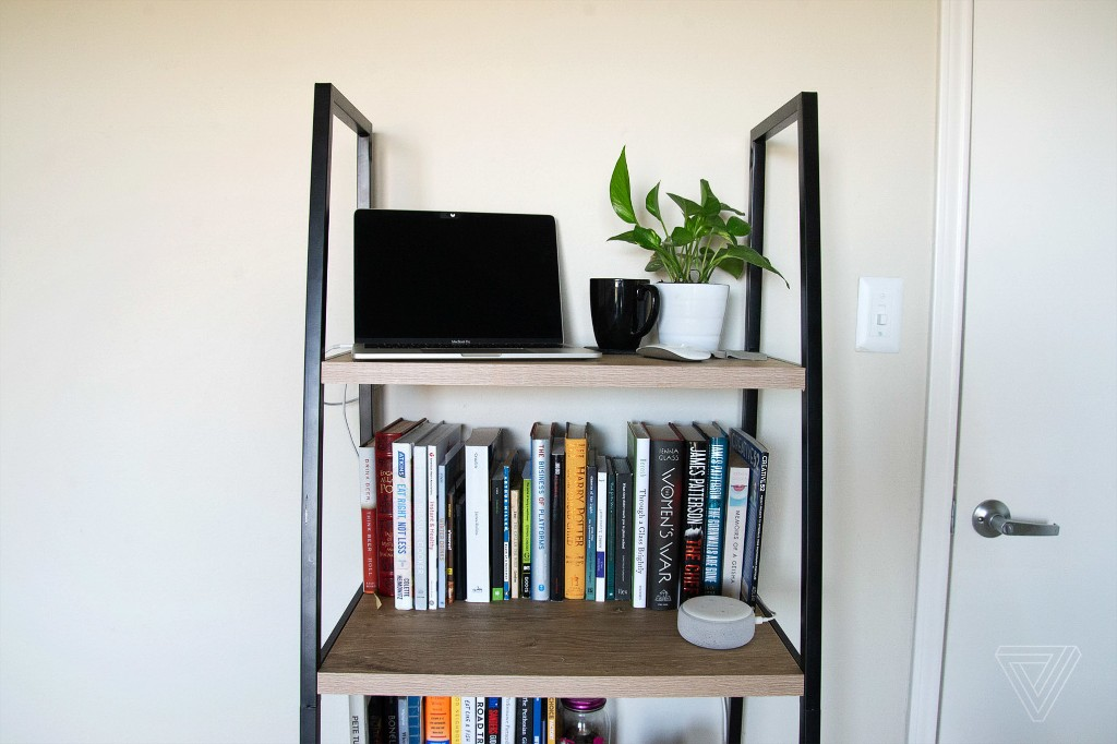 How to convert a bookcase into a standing desk