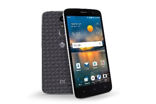 ZTE launches a $99 phone with a fingerprint sensor