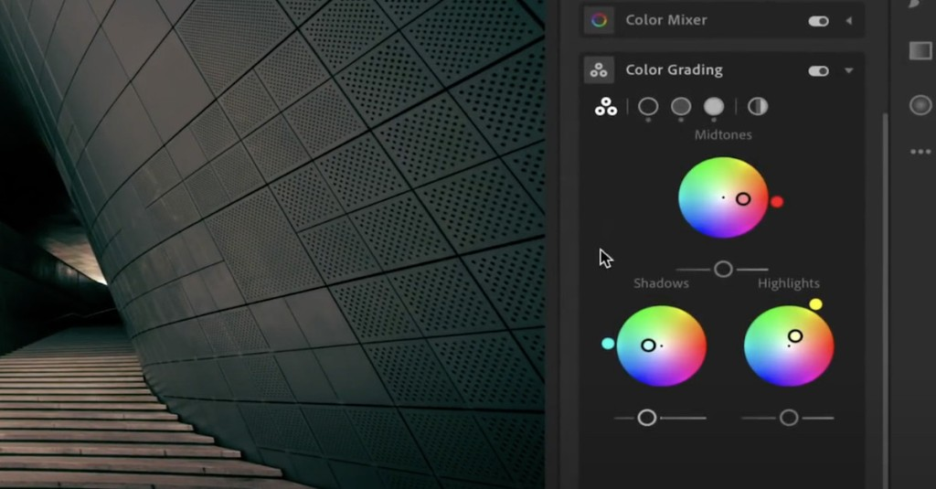 Lightroom's enhanced color grading tools are now available