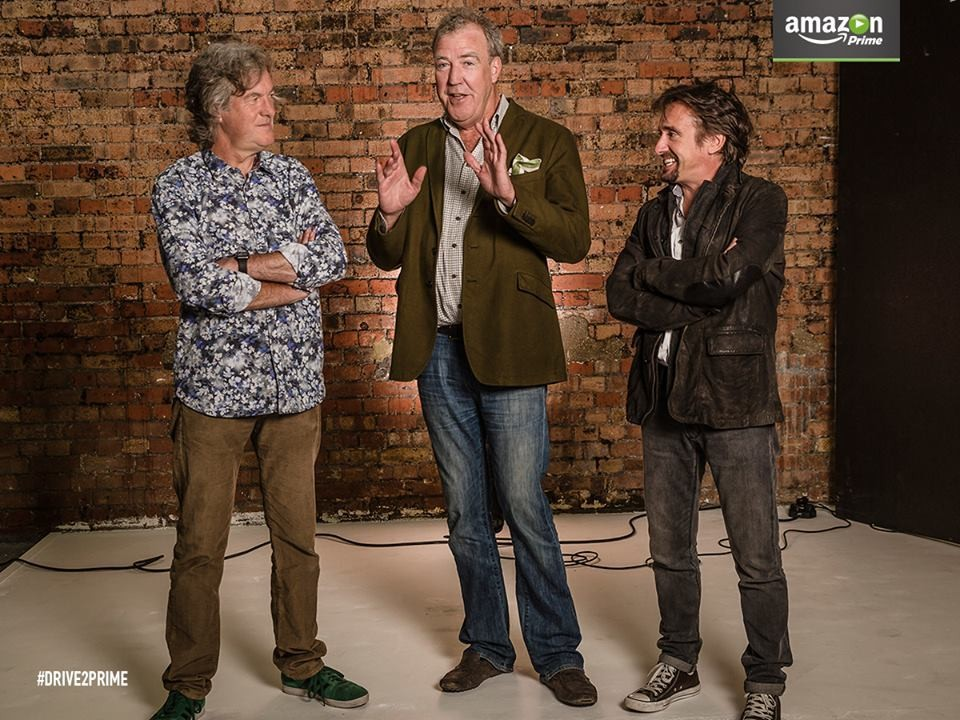 Amazon signs Top Gear's Clarkson, Hammond, and May for new show