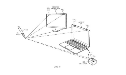 This Apple patent shows a stylus that can draw on any surface and even in midair