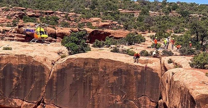 Texas man falls to his death while hiking in southern Utah
