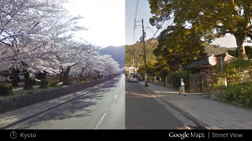 Google's Street View now lets you step back in time