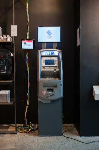 """Mr. Robot concept store lets you """"hack"""" a fake ATM for real money"""