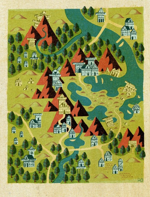 Get lost in this wonderful collection of fantasy maps