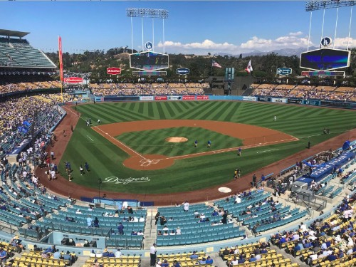 The true star of Dodgers-Rockies Game 163 was the empty seats tweets