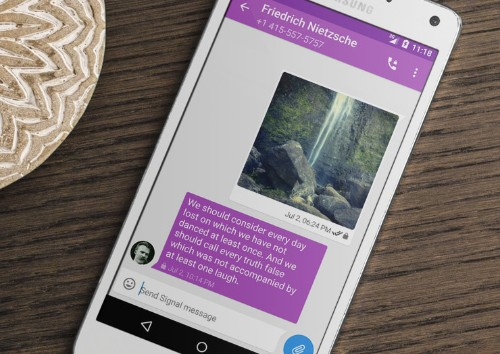 Edward Snowden's favorite encrypted chat app is now on Android