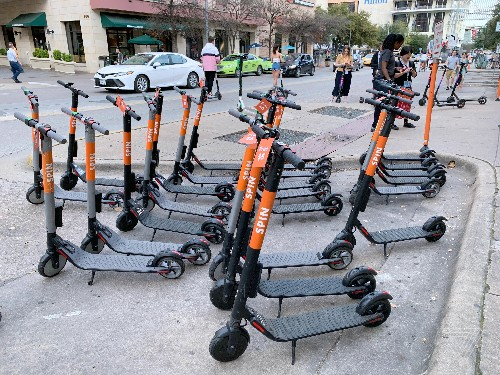 Austin's scooter invasion offers a glimpse of the chaotic future of cities